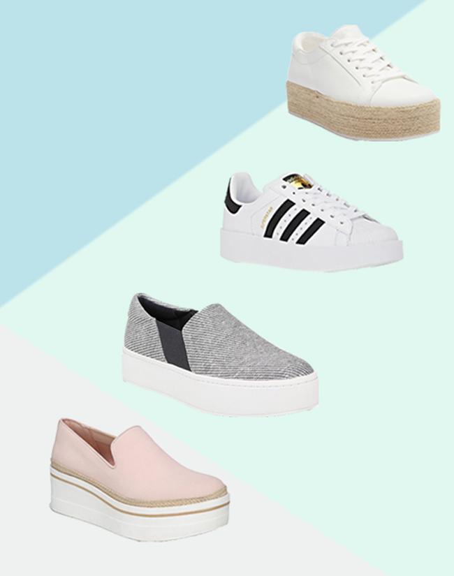 Best Platform Tennis Shoes for Travel